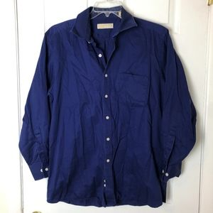 Men's Michael Kors Button Down Dress Shirt Size 16